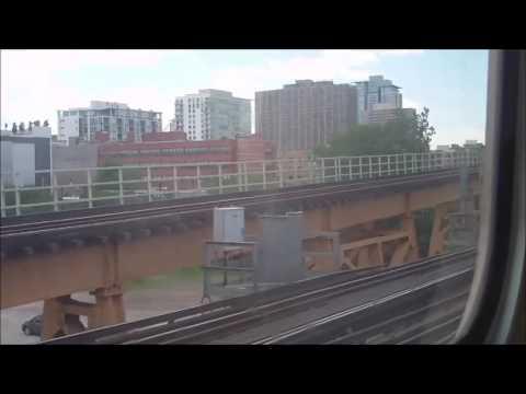CTA Green Line train from Randolph/Wabash to 63rd/Ashland terminal (06-07-16)