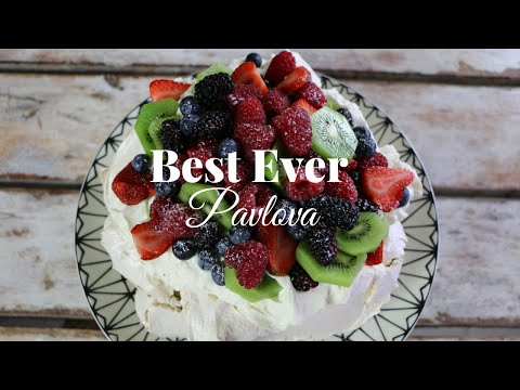 How to make a Pavlova with ease | The Internet Chef