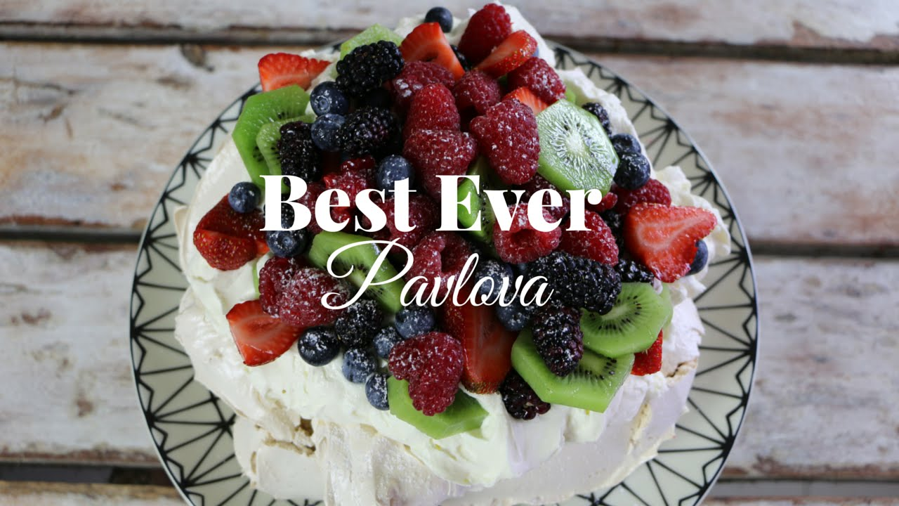How To Make Pavlova