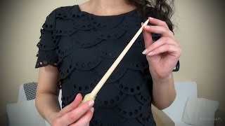Air Tracing with a Wand, Mouth Clicking & Hand Movements l Polish ASMR