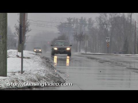 1/29/2015 Grand Rapids, MI Snow and Traffic B-Roll