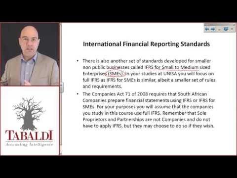 McKonly & Asbury Webinar - International Financial Reporting Standards (IFRS) Changes