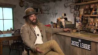 connectYoutube - Justice League - Interview with Jason Momoa (Aquaman)