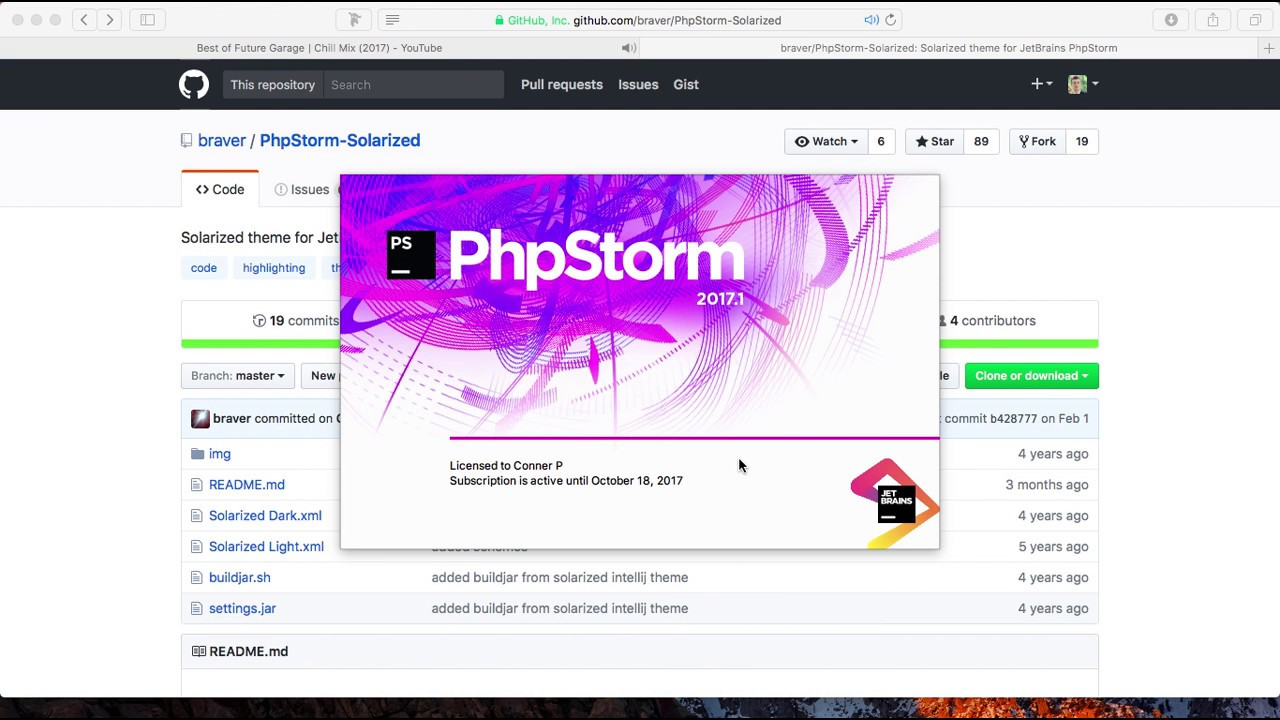 using custom color schemes phpstorm tutorials youtube