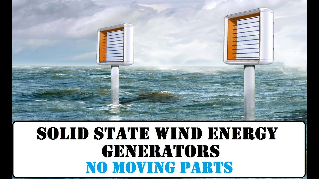 Solid State Wind Energy Generator. A Revolutionary Device