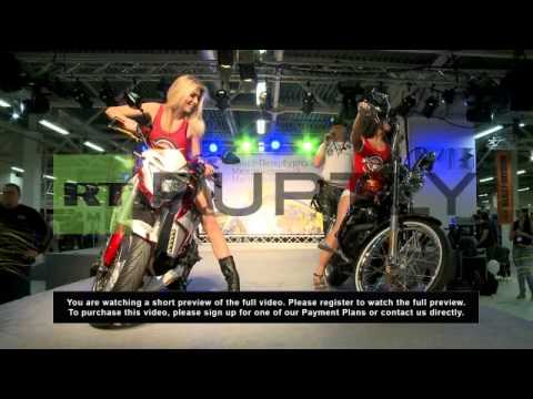 Russia: Motorcycle show revs into high gear in St. Petersburg