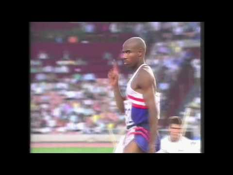 4008 Olympic Track & Field 1992 Long Jump Men Mike Powell