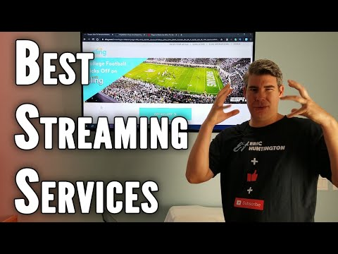 Streaming TV Comparison On Hulu Live, Sling TV, YouTube TV, AT&T TV NOW, PS VUE, FuboTV