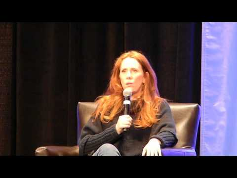 Catherine Tate panel Planet Comicon 2017 Sat 429 Kansas City
