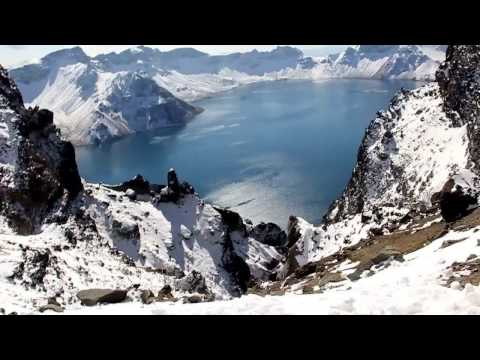 """Heavenly Lake"" at Mount Changbai (ChangbaiShan) - Jilin, PRC"