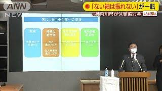 「ない袖は振れない」が一転 神奈川県が休業協力金(20/04/14)
