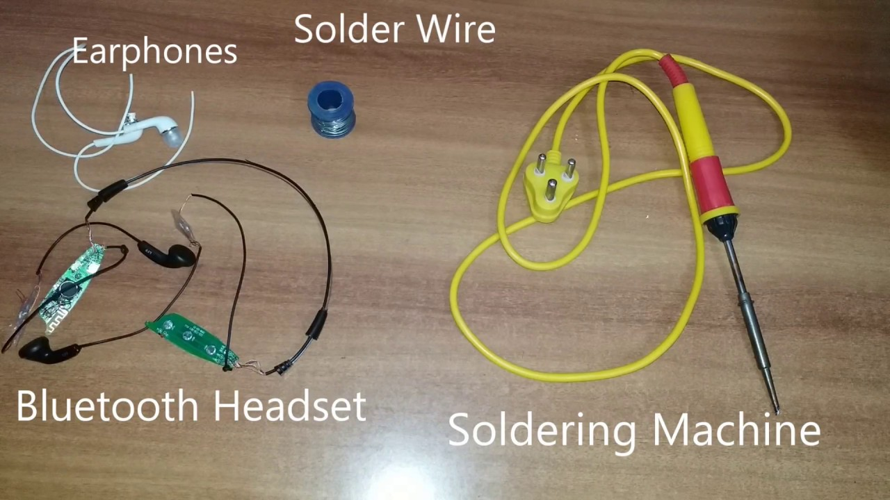 how to fix broken bluetooth earphones [ 1280 x 720 Pixel ]
