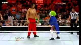 Vladimir Kozlov,Goldust,Santino  Khali vs  Regal,Ryder,Primo  Doink The Clown