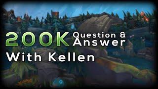 Q&A With Kellen (Exil)   200k Subs Celebration