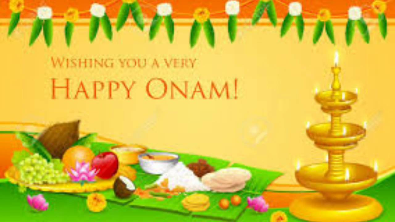 Happy Onam 2016 Imageswishesmessages Youtube
