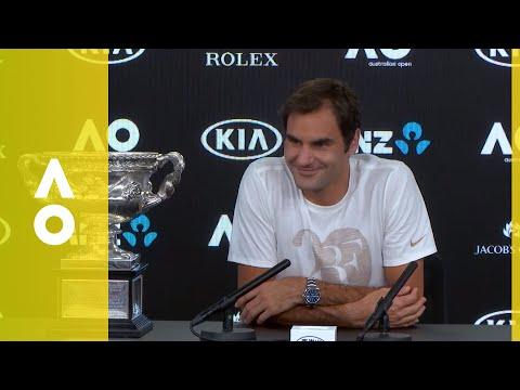 Roger Federer press conference (F) | Australian Open 2018