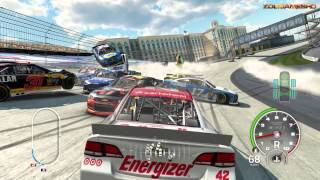 NASCAR 15 The Game Crash Compilation