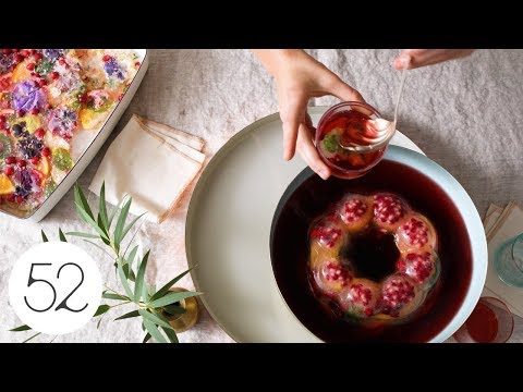 Colorful DIY Ice Molds | Food52 + Delta