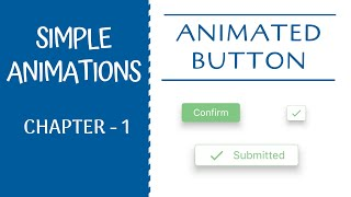 Animated Button   Simple Animations - Chapter 1   Flutter