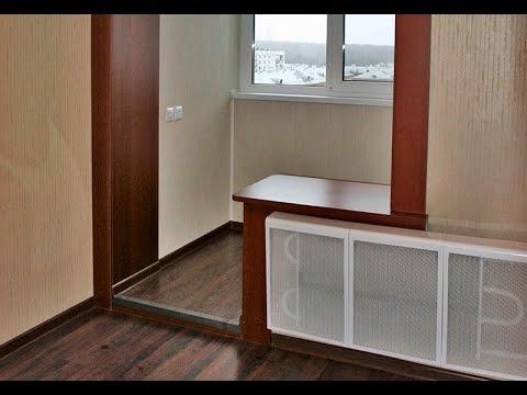 Серия дома п-68 совмещение лоджии с комнатой под ключ - yout.