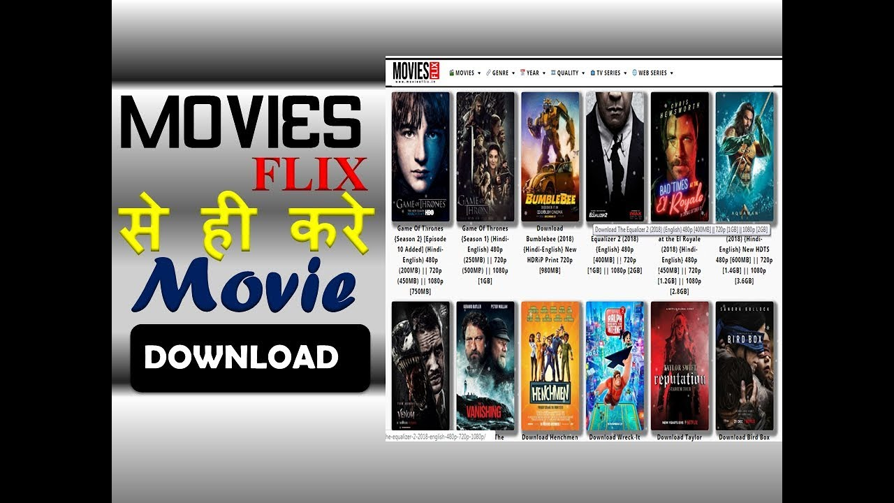 Flix Download no 1 movie websited (movies flix) and download hollywood or bollywood movie  in hindi