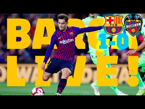 BARÇA 1-0 LEVANTE | LaLiga Champions!!! Warm up & Match Center & Camp Nou celebrations