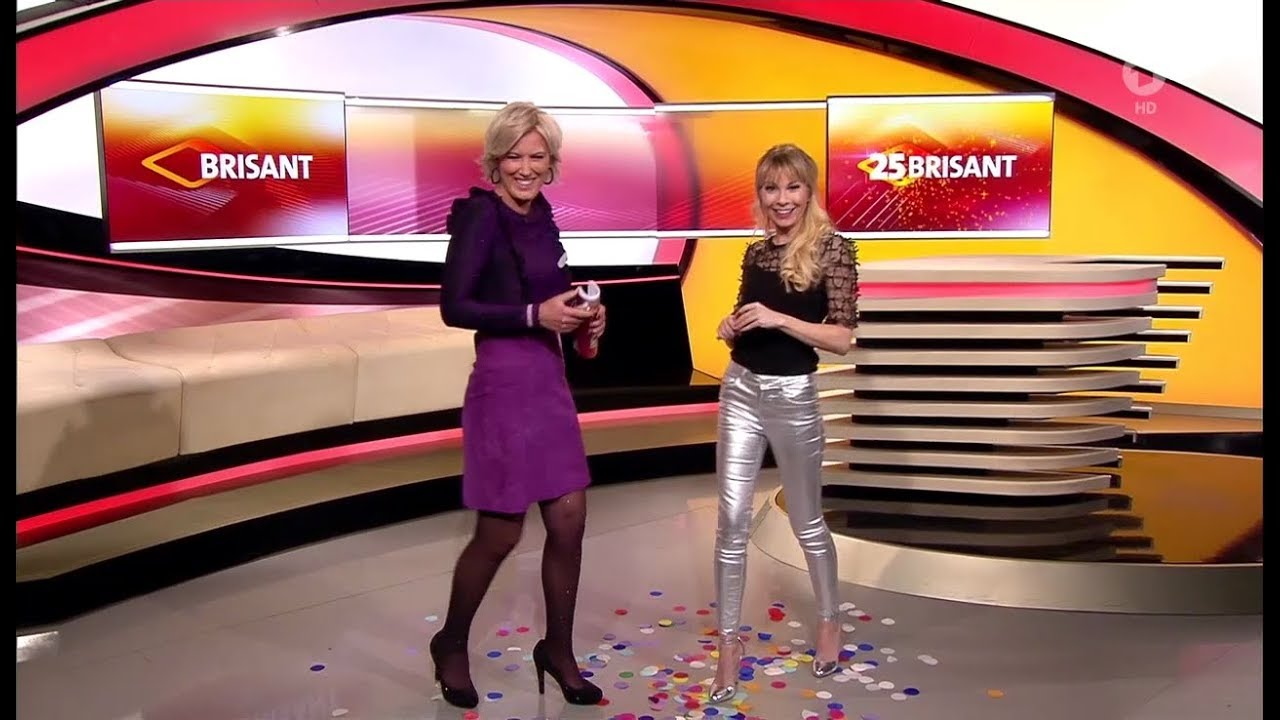 Susanne Klehn tight silver Leather Pants 28 12 2018 - YouTube