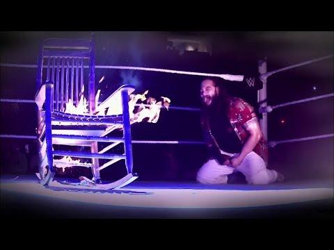 Bray Wyatt and The Undertaker prepare to...