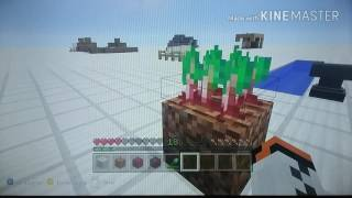 Minecraft Xbox 360/Ps3 Mise a jour 2016