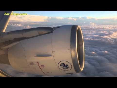 Air France Airbus A320 full flight to Paris by [AirClips full flight series]