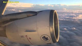 Air France Airbus A320 full flight to Paris by [AirClips full flight series]