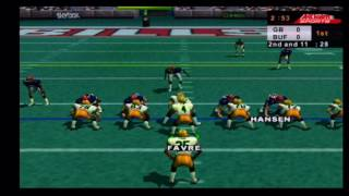 NFL Quarterback Club 2000 Packers vs Bills Part 1