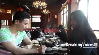 Interview in Mandarin Little Lamb Hot Pot Chinatown Chicago
