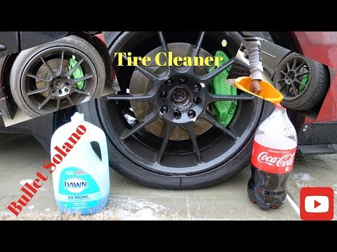How To!!!!! COKE & SOAP To Clean Tires??