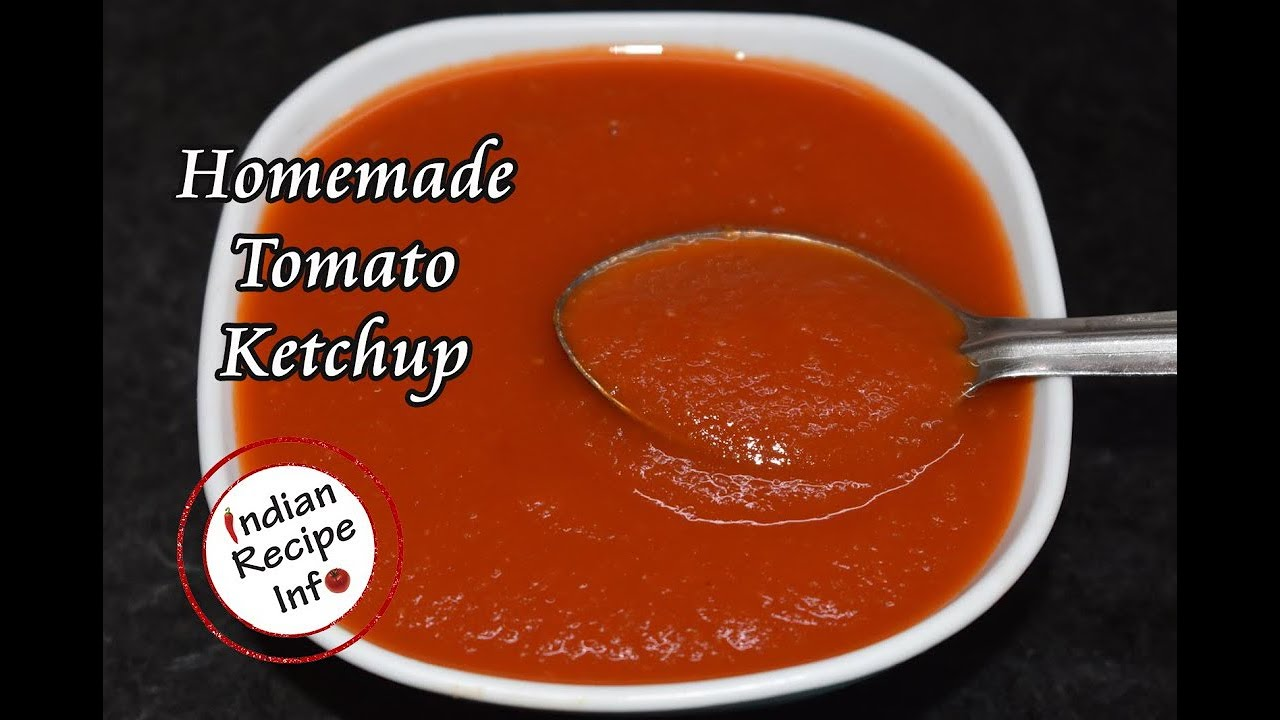 Tomato Ketchup Recipe with Essential TIPS | Homemade Tomato Sauce Indian Style | Tomato Sauce Recipe