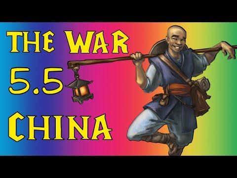 The War 5.5 играем против китайцев