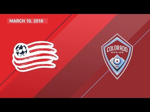 HIGHLIGHTS: New England Revolution vs. Colorado Rapids | March 10, 2018