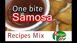 One Bite Potato Samosa - Ramzan Special Recipe by Recipes Mix