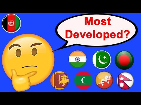 Every South Asian country ranked according to HDI (2018)