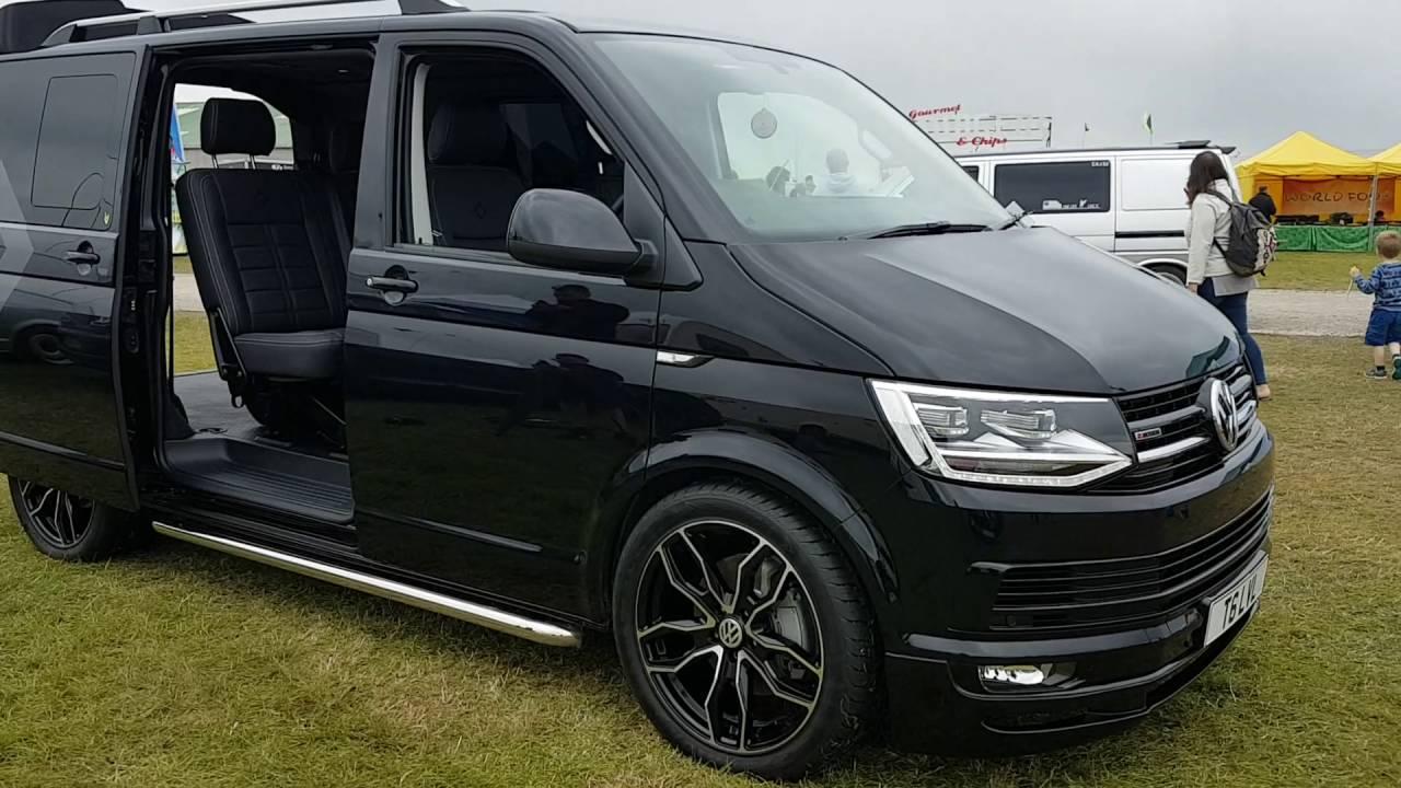 Leighton Vans Demo Van Volkswagen T6 180 Dsg Kombi Short Video In Cornwall Shians Show Ground