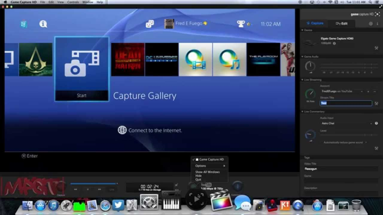 elgato game capture hd 60 hd software 2 0 mac overview 1080p hd youtube. Black Bedroom Furniture Sets. Home Design Ideas