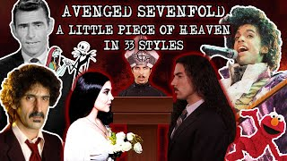 Avenged Sevenfold  A Little Piece Of Heaven in 33 Styles