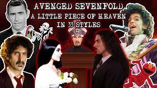 Download Avenged Sevenfold - A Little Piece Of Heaven in 33 Styles