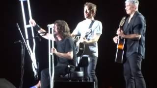 """My Hero (Acoustic)"" Foo Fighters@RFK Stadium Washington DC 7/4/15"