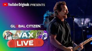 """Eddie Vedder Performs """"Corduroy"""" and Calls for Vaccine Equity 