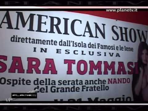 American Show Sara Tommasi ....PlaneTv