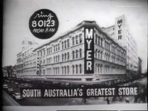 Myer's Adelaide Commercial #2 (1965?)