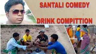 Santali comedy drink compitition..
