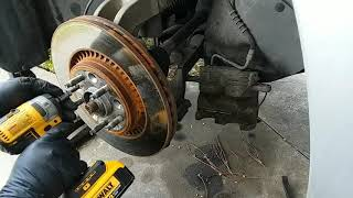 """Dewalt Made In Mexico 887 3/8"""" Anvil Conversion In Action, Ford Five Hundred Front Strut Replacement"""