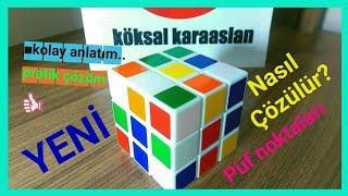 ⌛3X3★zeka küpü nasıl çözülür #zeka küpü çözümü #rubik küp çözümü #küp yapımı#rubiks cube#kubik rubik